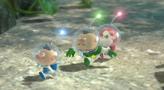 I tre capitani di Pikmin 3