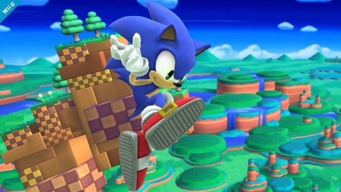 Sonic Smash Wii U