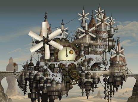 Bravely-Default-Clock-Town