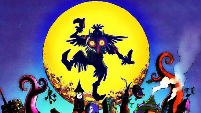 The_Legend_Of_Zelda_Majora_Mask_art