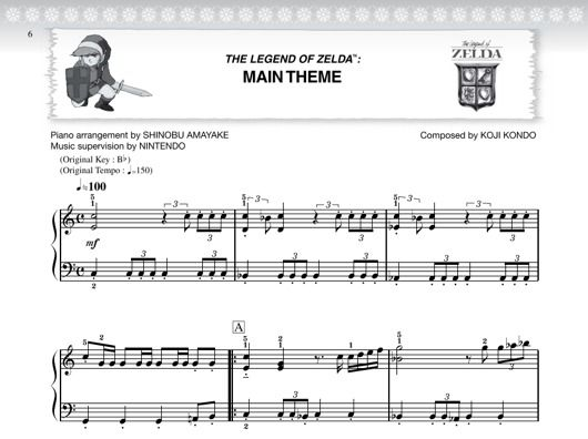 The_Legend_Of_Zelda_Music_Sheet