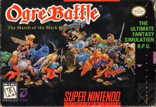 Box di Ogre Battle: The March Of The Black Queen