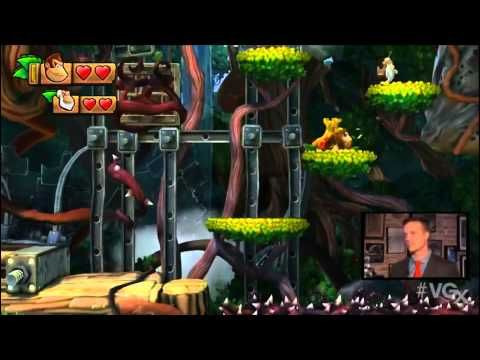 Donkey Kong Country: Tropical Freeze - Cranky Kong Reveal #1