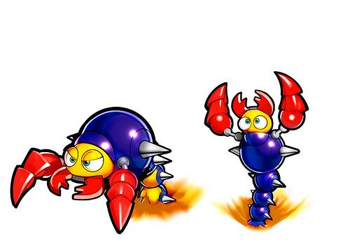 concept art sonic lost world ant lion