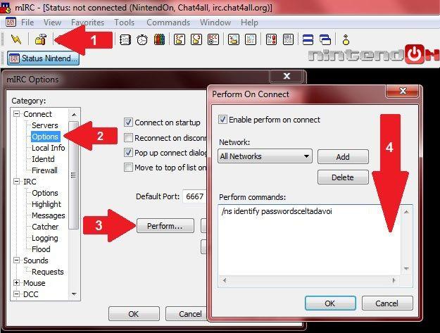 Guida mIRC - Passo 4B - Autoidentify