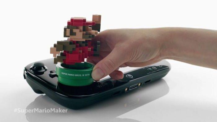 Ovviamente ho comprato Super Mario Maker anche per l'amiibo. E l'artbook. Dannata Nintendo!