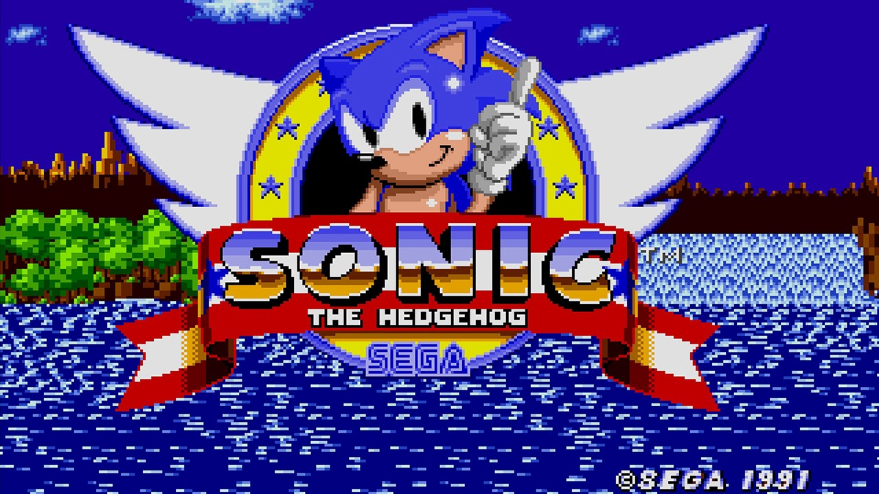 Sega Mega Drive Sonic 25th Anniversary Edition