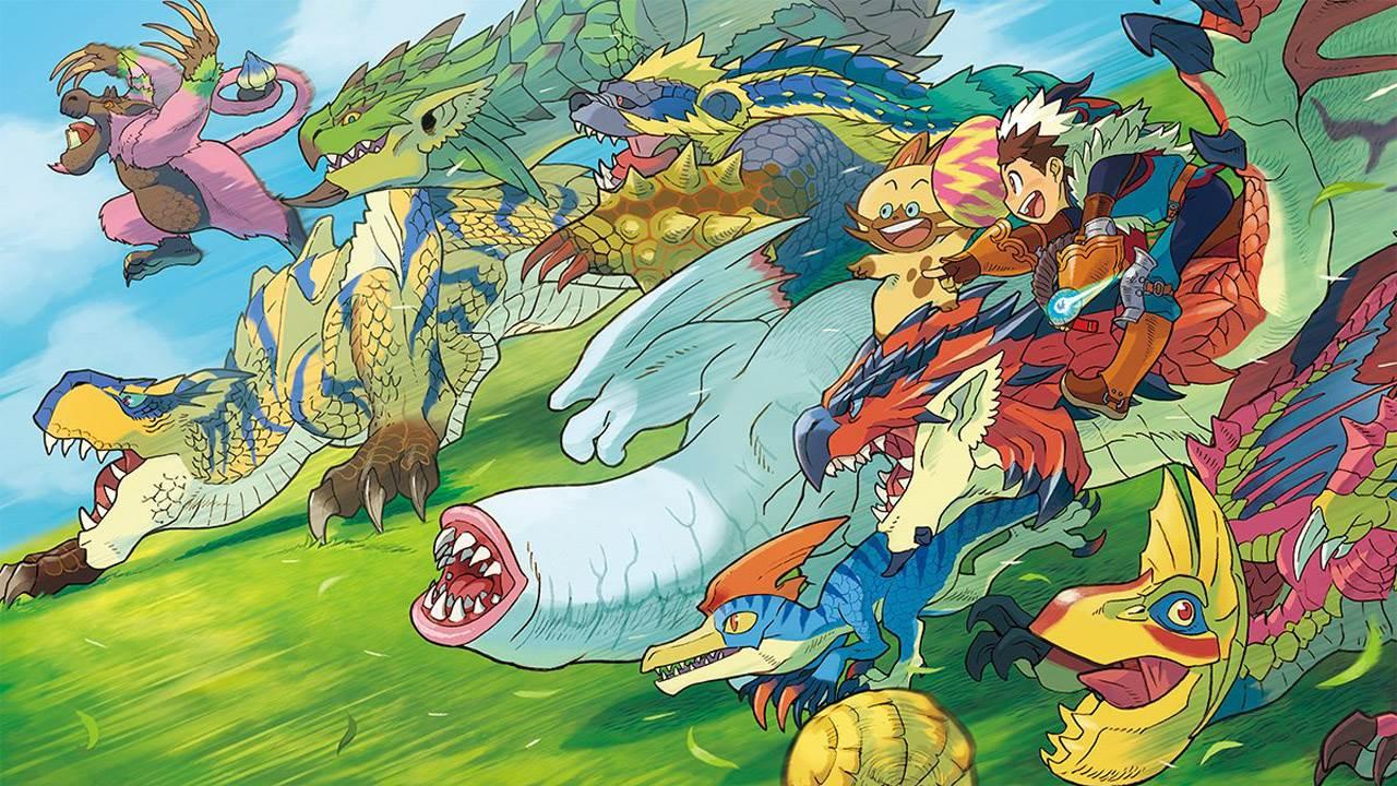 V Jump, gameplay, Monster Hunter Stories