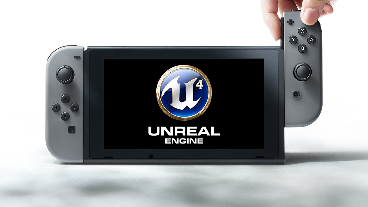 Switch Unreal Engine 4