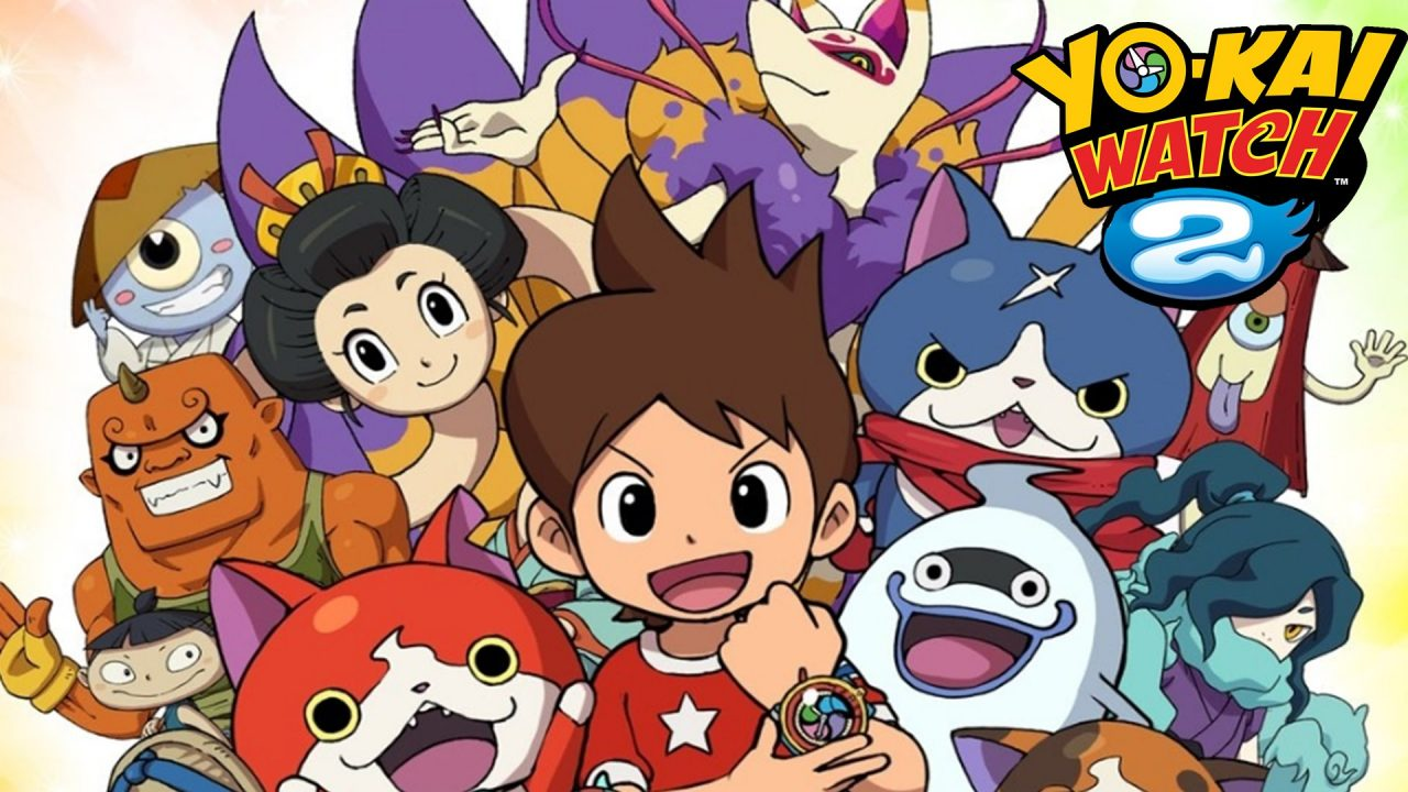 Yo kai watch 2 bony spirits e fleshy souls nuovo promo for Chambre yo kai watch