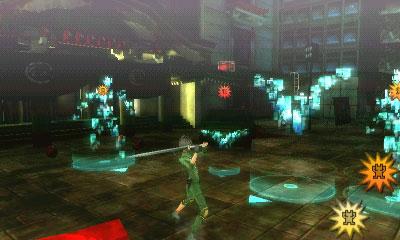 I nemici sono visibili nel mondo di gioco come sagome luminose e spesso evitabili
