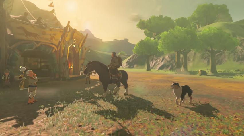 The Legend of Zelda: Breath of the Wild Epona