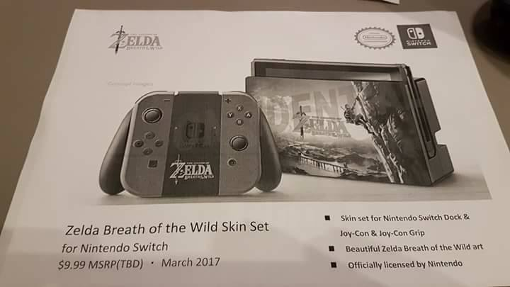 Hori: leak di tutti gli accessori per Nintendo Switch