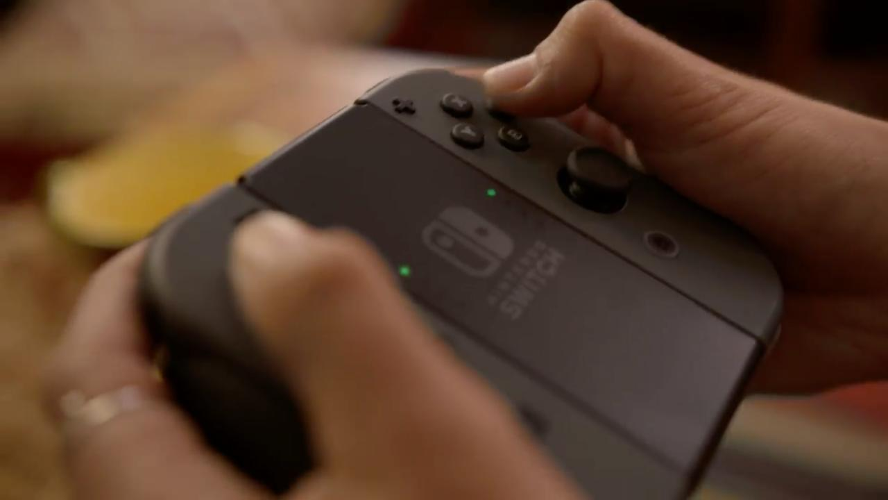 haptic feedback nintendo brevetto Nintendo Switch