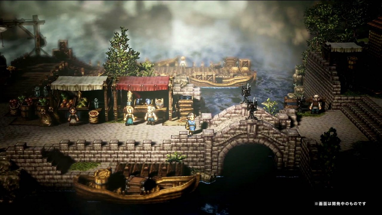 Project Octopath Traveler Square Enix