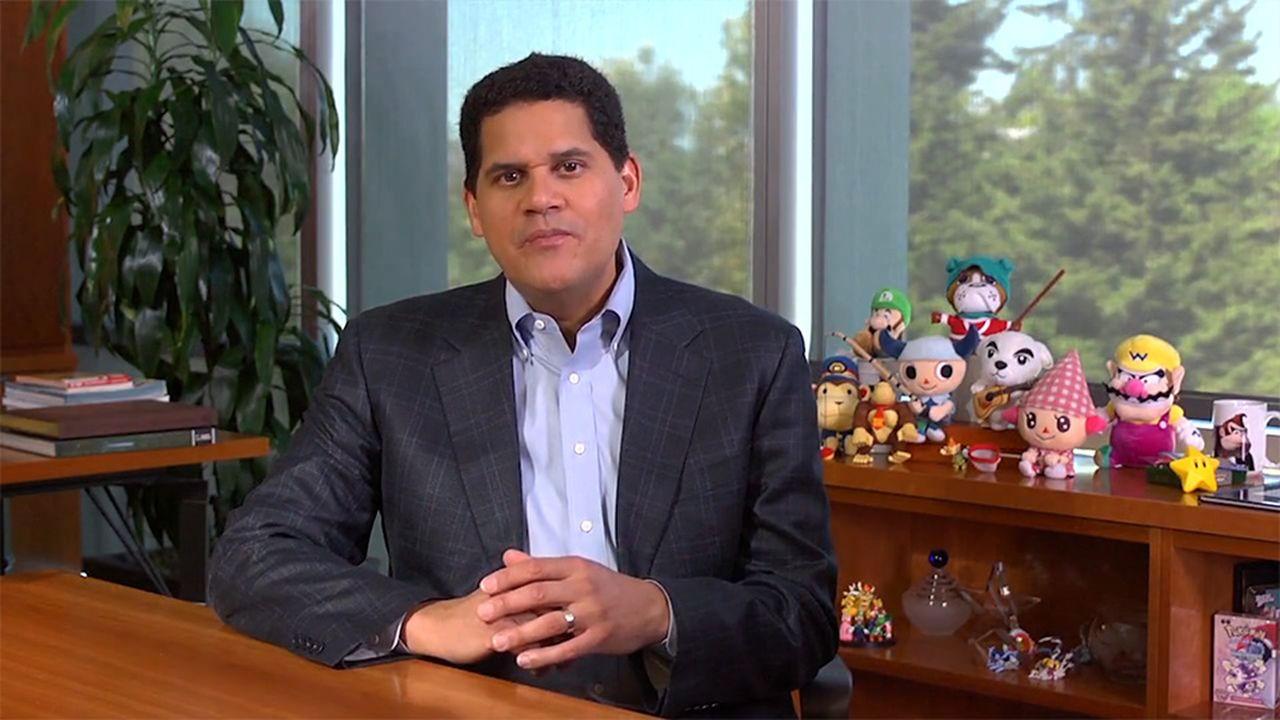 Reggie Nintendo Switch