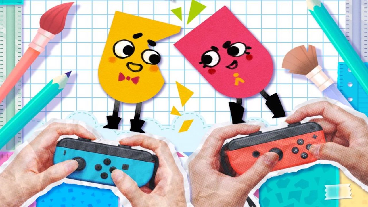 Snipperclips trailer Switch