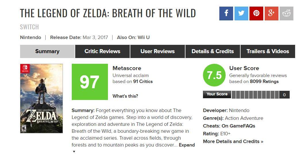 Metacritic stesso dimostra come mettere sullo stesso piano critica e pubblico a volte possa essere pericoloso e comico allo stesso tempo