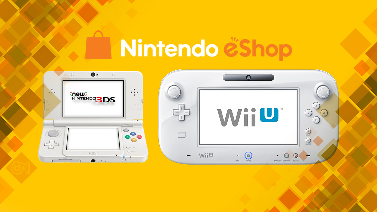 Uscite settimanali eShop Wii U e 3DS 31 marzo 2016 7 aprile 2016 28 aprile 2016 5 maggio 2016 12 maggio 2016 19 maggio 2016 26 maggio 2016 24 giugno 2016 30 giugno 2016 14 luglio 2016 21 luglio 2016 28 luglio 2016 Uscite settimanali Nintendo eShop Wii U e 3DS 4 agosto 2016 11 agosto 2016 25 agosto 2016 1° settembre 2016 22 dicembre 2016 12 gennaio 2016
