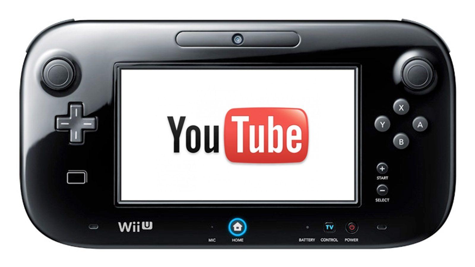 youtube wii U