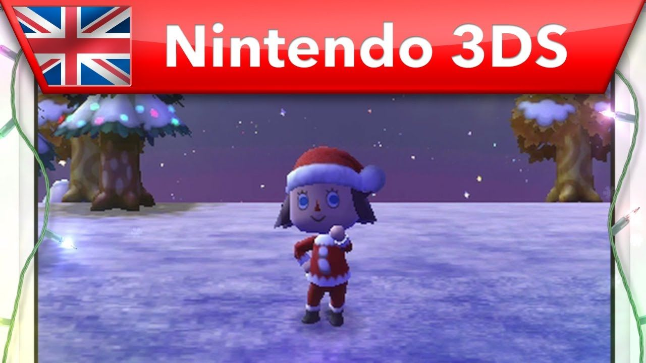 Animal Crossing: New Leaf - Christmas Trailer (Nintendo 3DS)