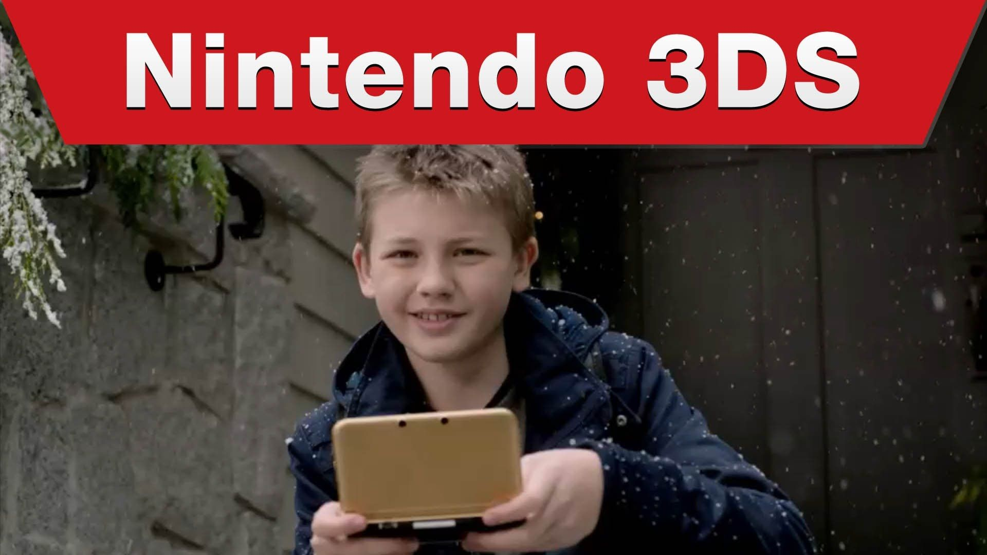 Nintendo 3DS - 3DS Holiday TV Commercial