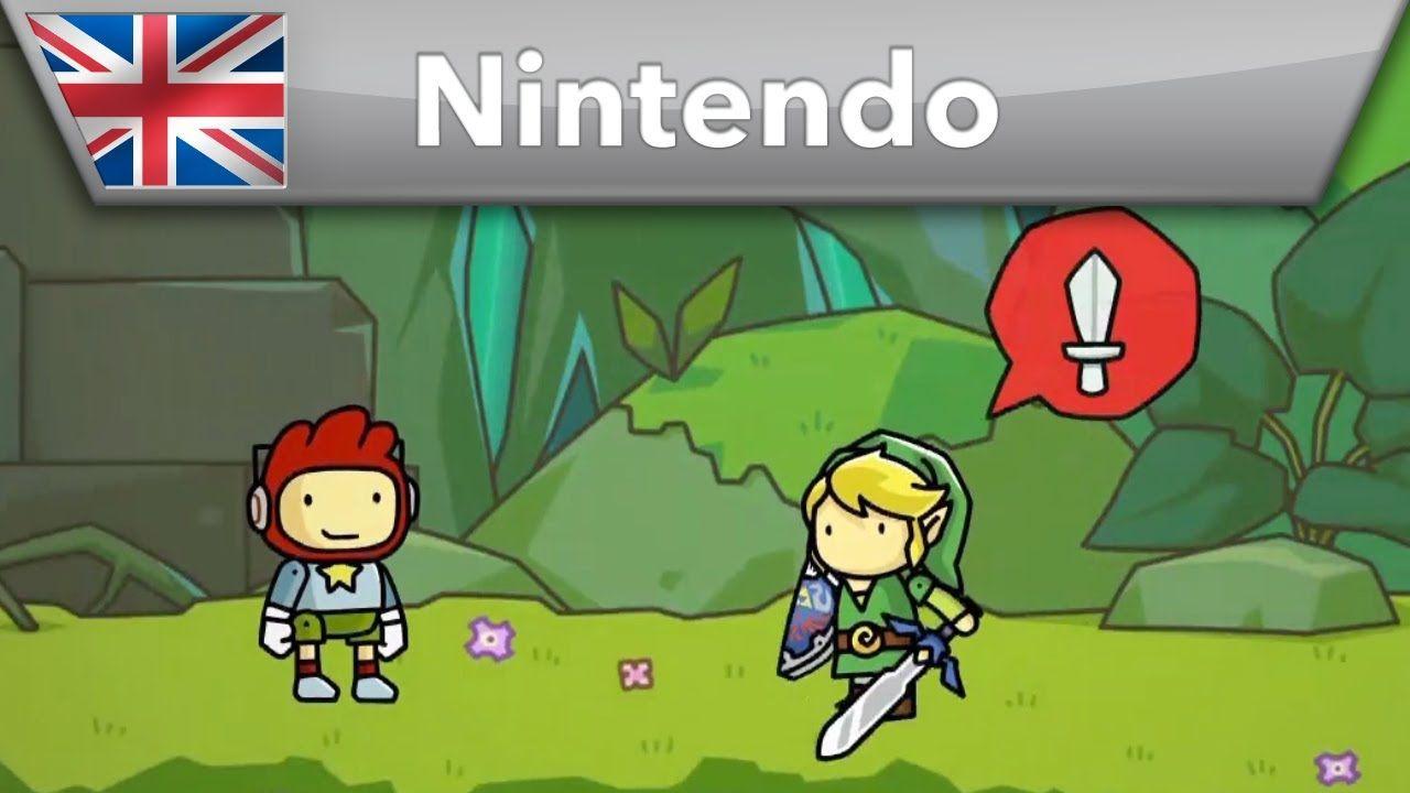 Scribblenauts Unlimited - Trailer (Wii U & Nintendo 3DS)