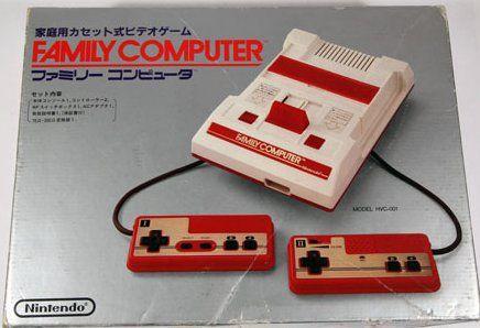 La prima versione del Famicom
