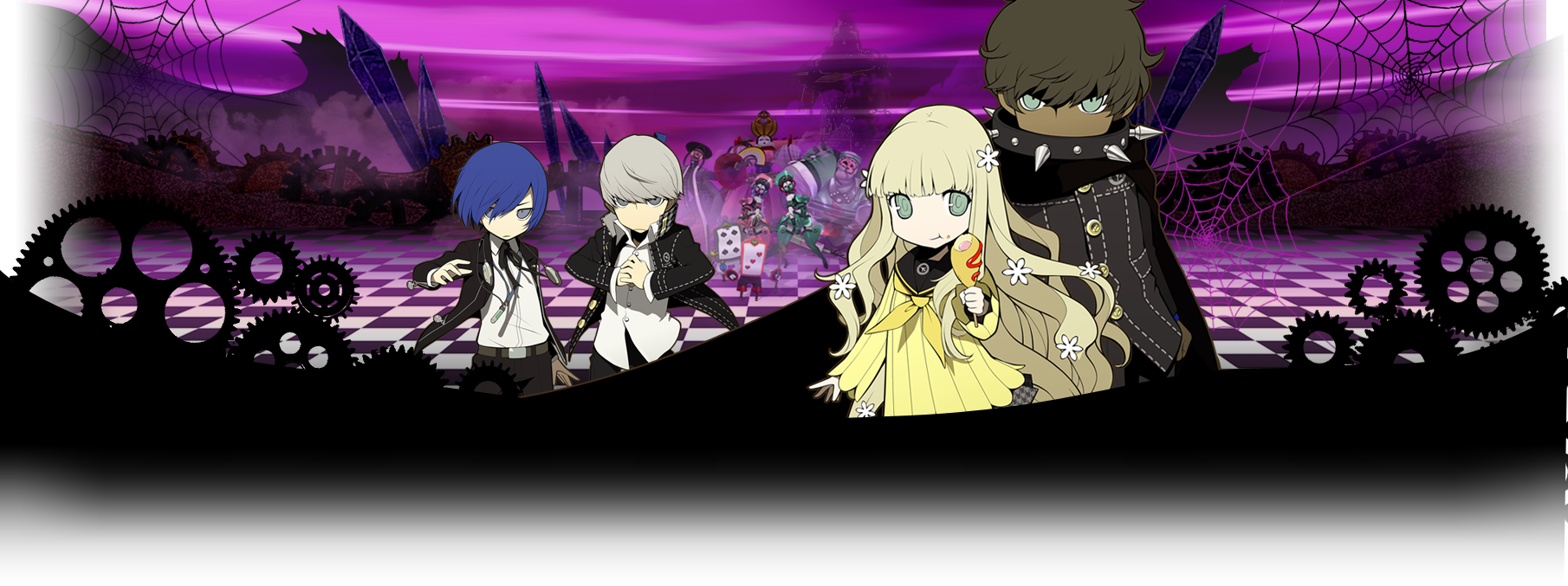 Persona Q: Shadow of the Labyrinth wallpaper