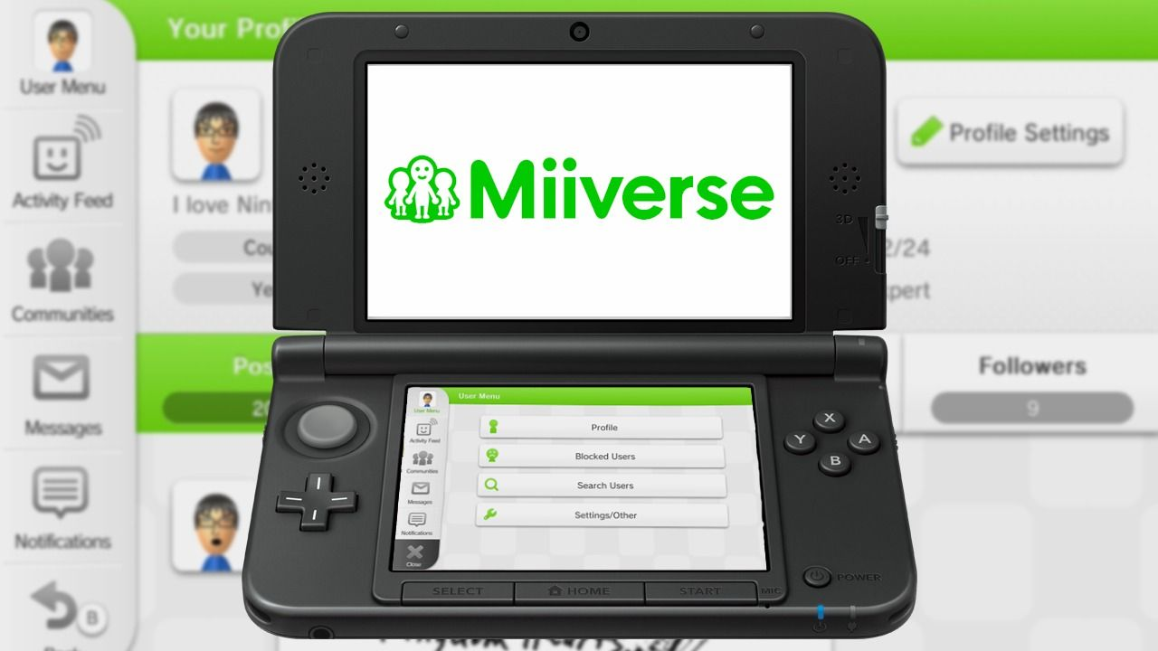 Miiverse 3DS
