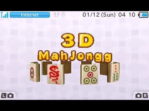 [eShop EU] 3D Mahjongg - First Look