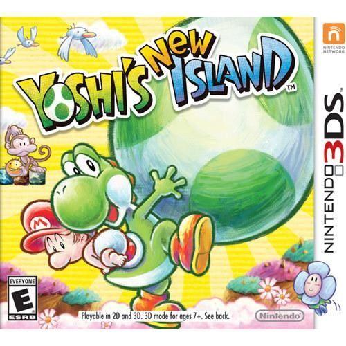 Yoshi's New Island cover