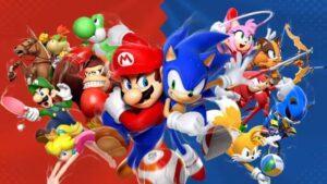 Sonic Mario & Sonic ai Giochi Olimpici di Rio 2016 amiibo