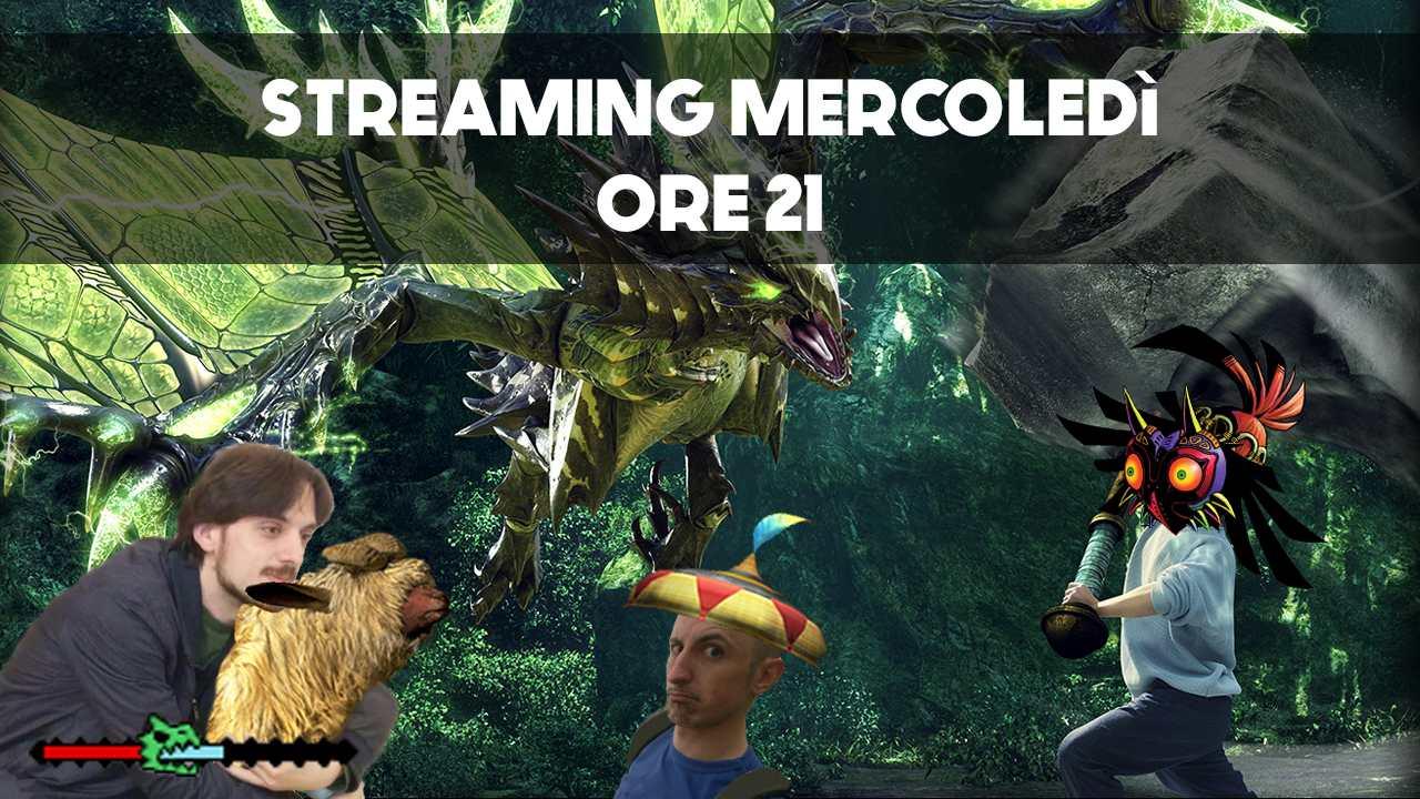 Monster Hunter X streaming NintendOn