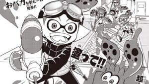 Splatoon adattamento manga