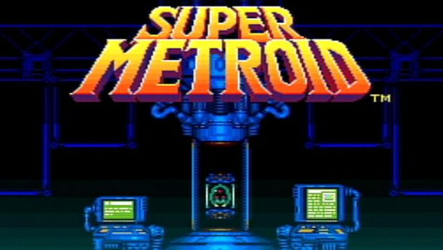 Super Metroid Virtual Console 3DS