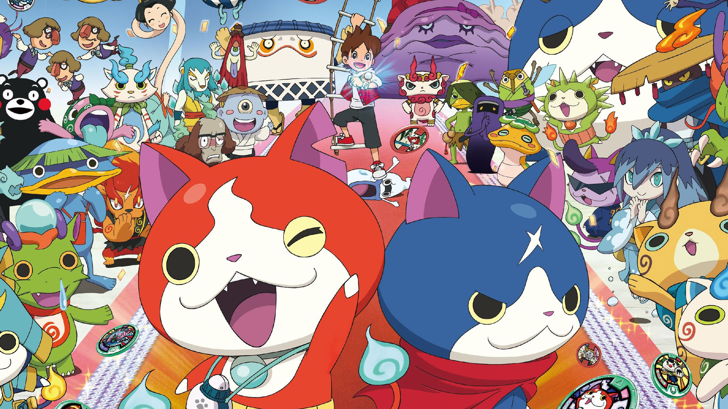 E3 2016 yo kai watch 2 si mostra al treehouse nintendo for Chambre yo kai watch