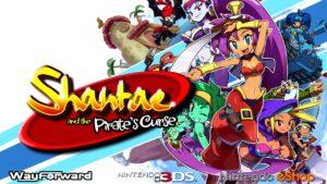 Shantae and the Pirate's Curse boxart