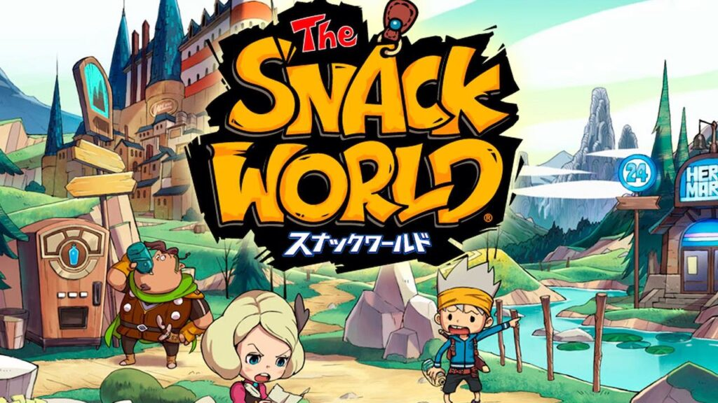 the snack world level 5