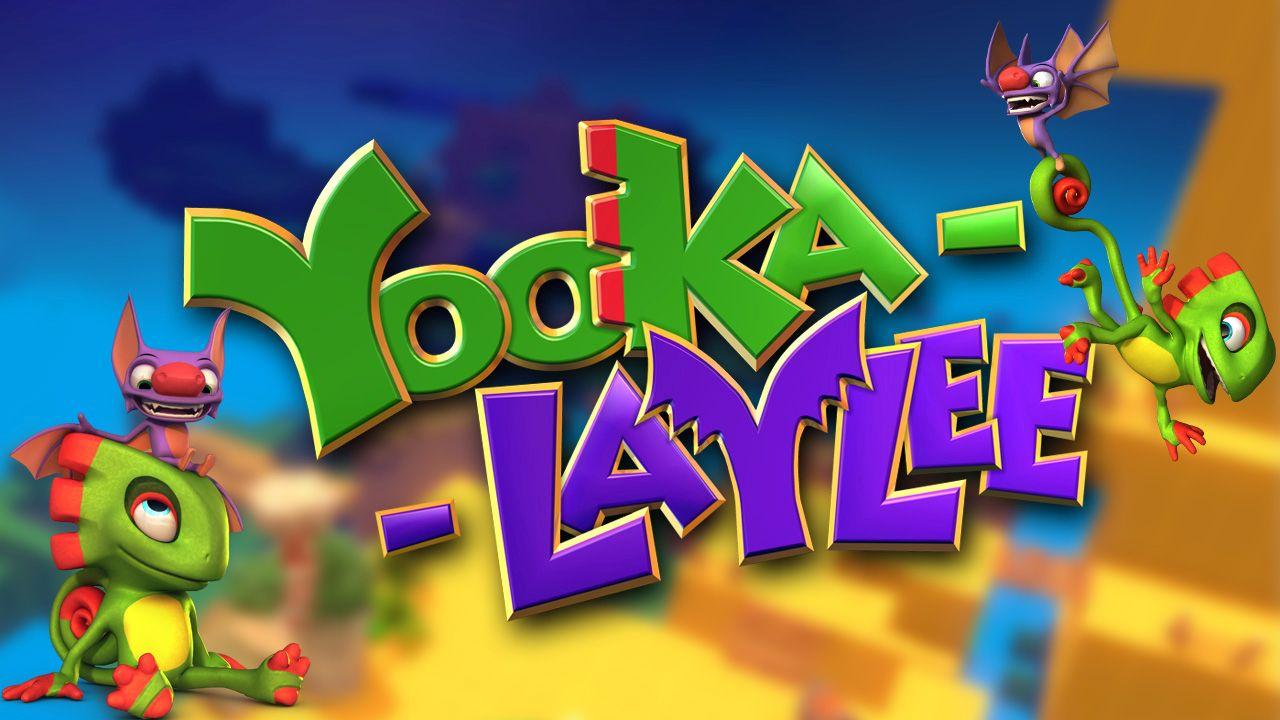 Yooka-Laylee platform 3D