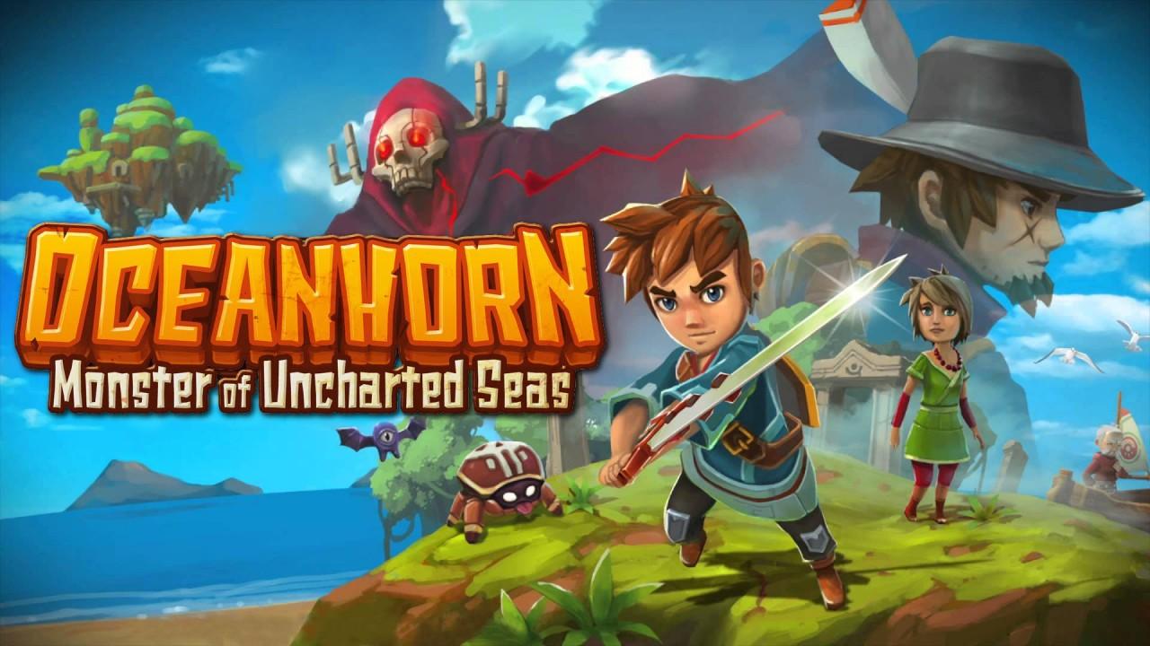 Oceanhorn: Monster of Uncharted Seas switch