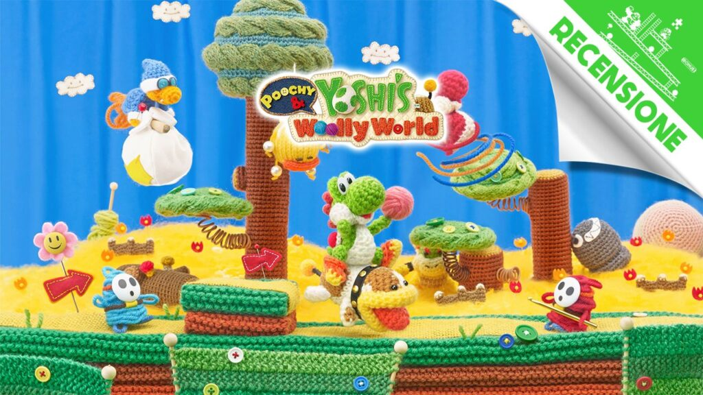 Poochy & Yoshi's Woolly World 3DS Recensione