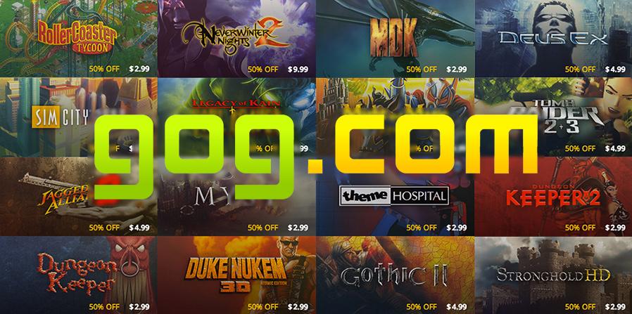 Gog è una specie di Steam per retrogamer: il gioco viene venduto con materiali extra come manuali, ost e altro ancora