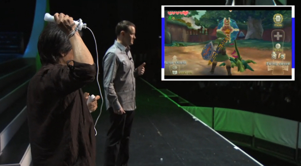 zelda-the-skyward-sword e3 demo