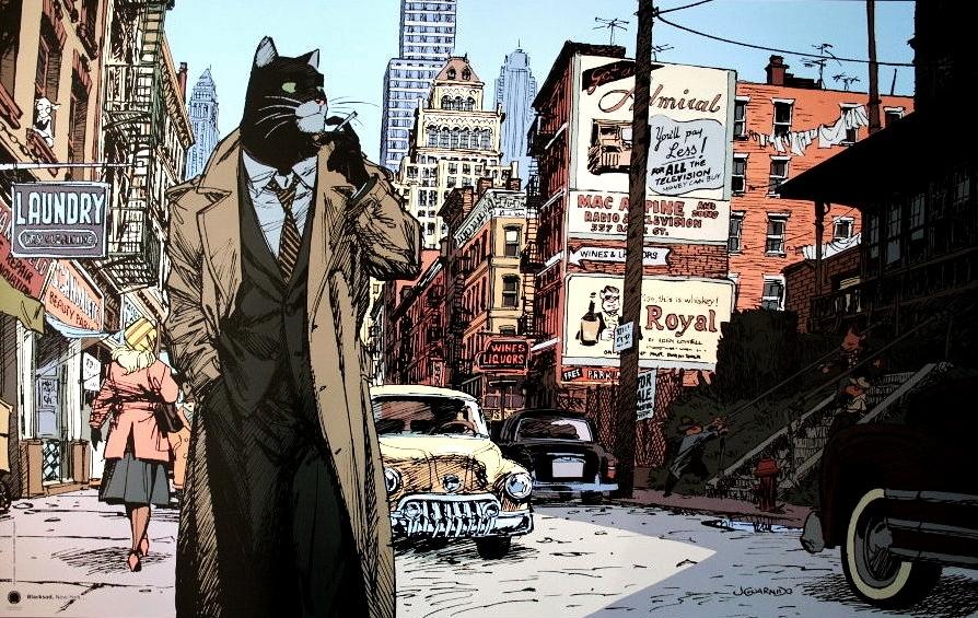 Blacksad Visual Novel