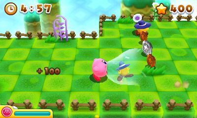 kirby's blowout blast nintendo 3ds recensione review
