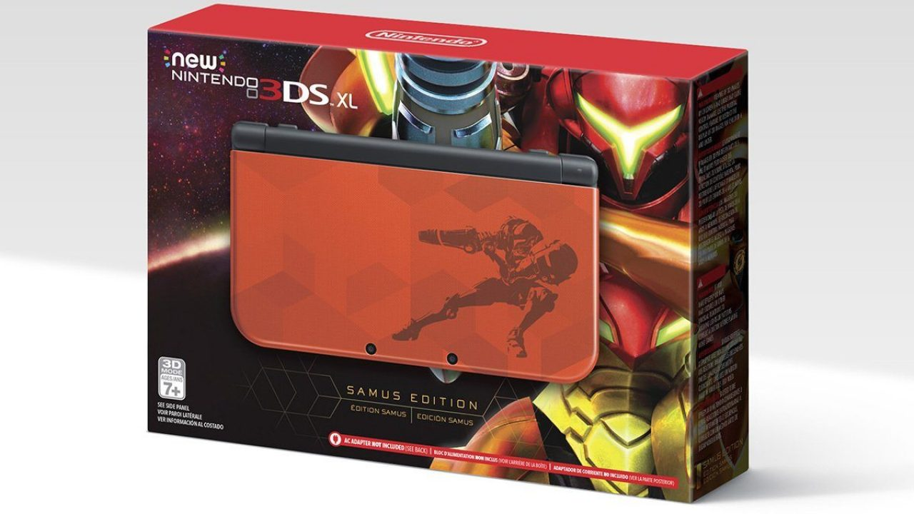 New Nintendo 3DS Metroid Samus - Limited Edition disponibile in preorder su Amazon!