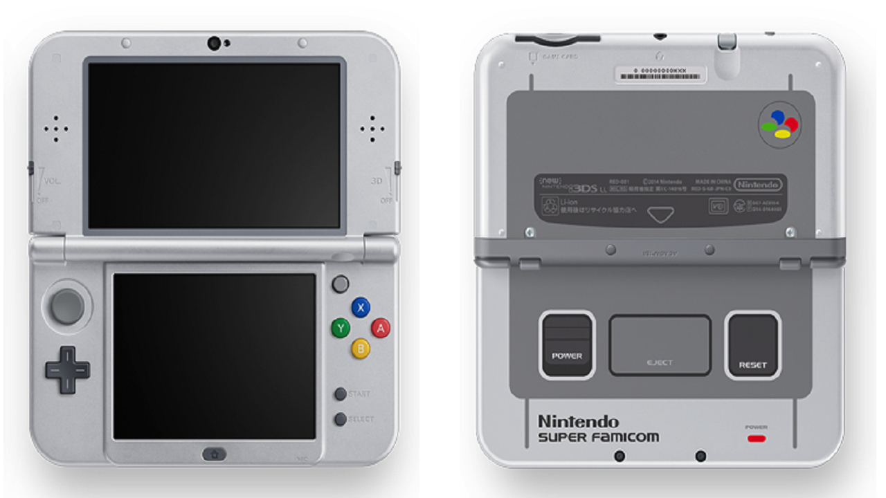 new 3ds xl snes
