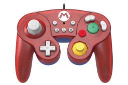 HORI svela l''™arrivo di tre nuovi controller GameCube per Nintendo Switch dedicati a Super Mario, The Legend of Zelda e Pikachu
