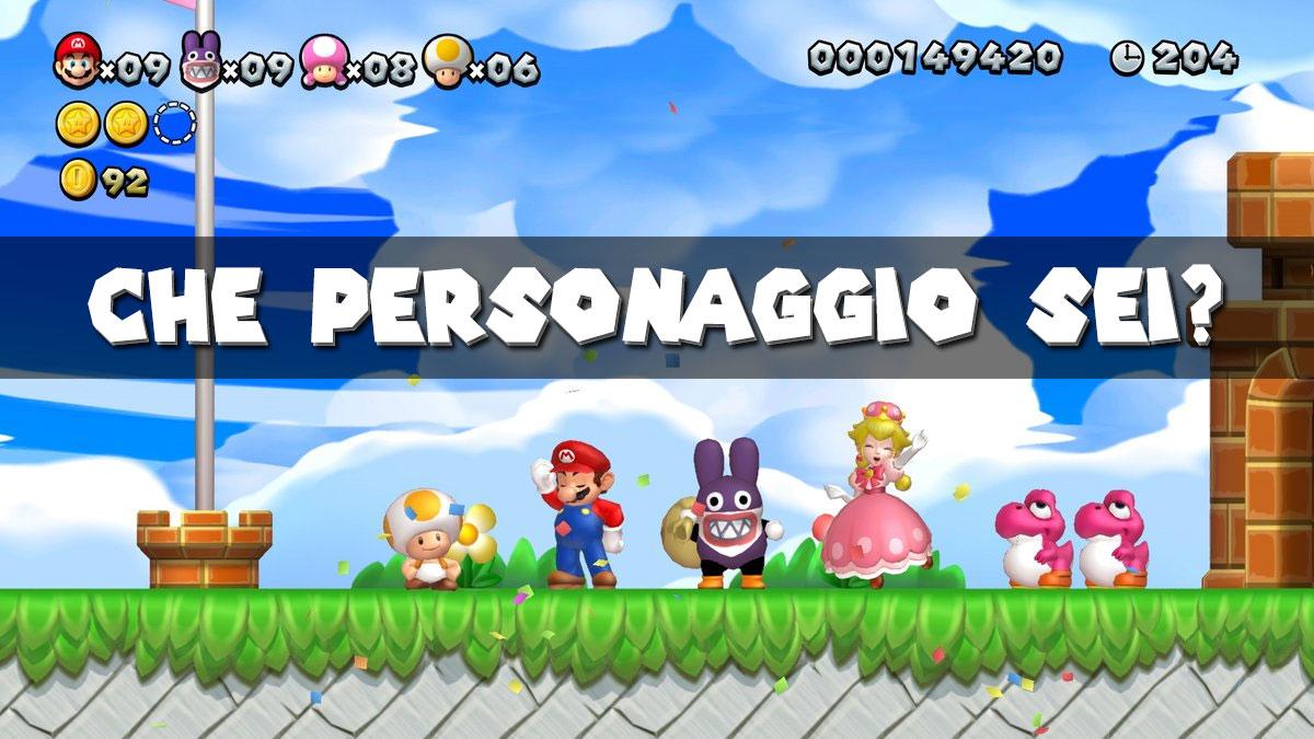 New Super Mario Bros U Deluxe Dimmi Che Personaggio Scegli Ti Diro Chi Sei Nintendon